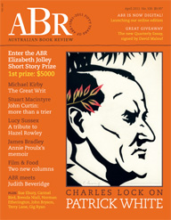Australian Book Review Online Edition launches today